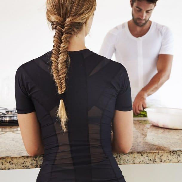 Posture t-shirt - holdningskorrigerende t-shirt