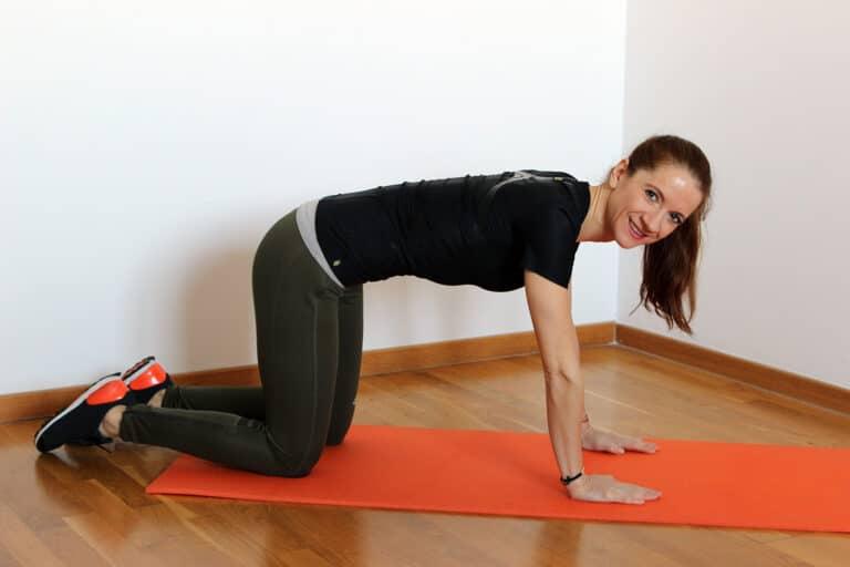 Diskusprolaps øvelser lindrer smerter og styrker ryggen.