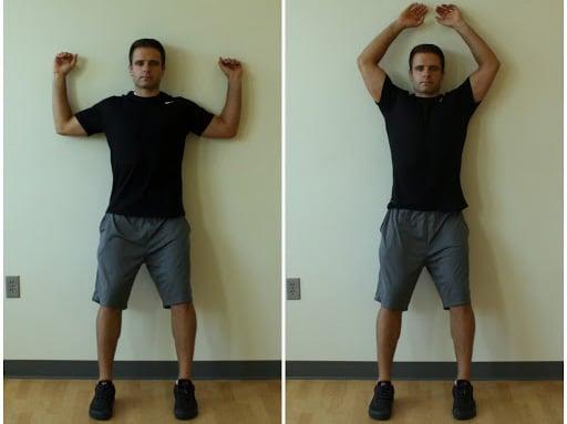 Nakkeøvelser - Øvelse til at skabe bevægelighed i skuldre, nakke og ryg.